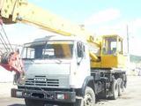 Услуги автокрана камаз 25 тонн, стрела 31 метр