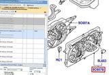 Вентилятор радиатора Ford Focus 1998-2005 1355712, бу
